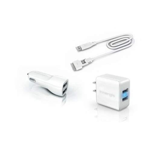 Innergie Mmini Combo 15W Ac (Wall), 10W Dc (Auto) Dual Usb Travel Charging Kit With