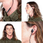 Skullcandy Ink'D 2.0 Noise-Isolating Earbud With In-Line Microphone And Remote, Tangle-Reducing Flat Cable, Supreme Sound With P