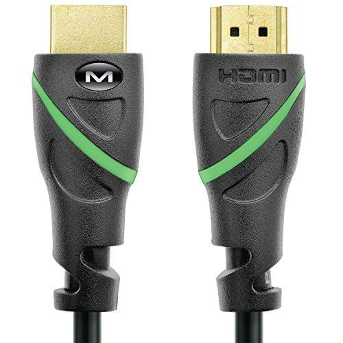 Mediabridge Flex Series Hdmi Cable (1 Foot) Supports 4K@50/60Hz, High Speed, Hand-Tested, Hdmi 2.0 Ready - Uhd, 18Gbps, Audio Return Channel
