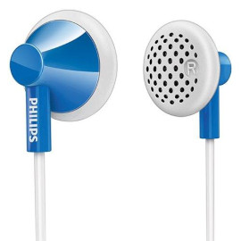 Philips She2100Bl/28 In-Ear Headphones - Blue (Discontinued By Manufacturer)