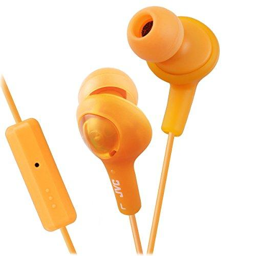 Jvc Hafr6D Gumy Plus Headphones (Orange)