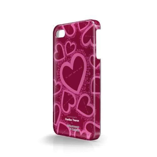 Whatever It Takes Wus-Ip5-Gct04 Premium Gel Shell For Iphone 5 - Retail Packaging - Charlize Theron Wine Red