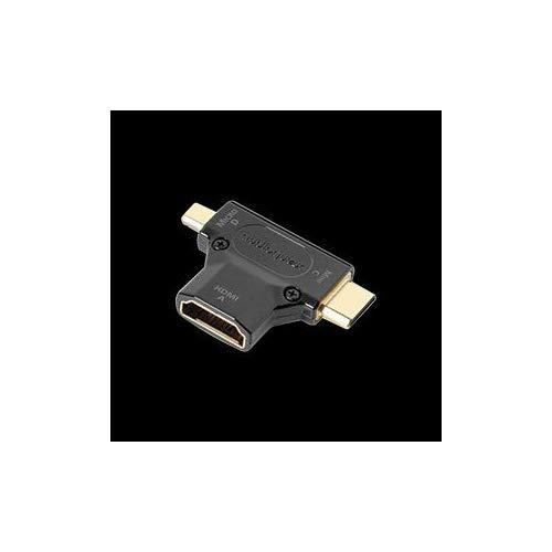 Audioquest Hdmi A To C And D Hdmi Standard To Micro And Mini Hdmi Adaptor