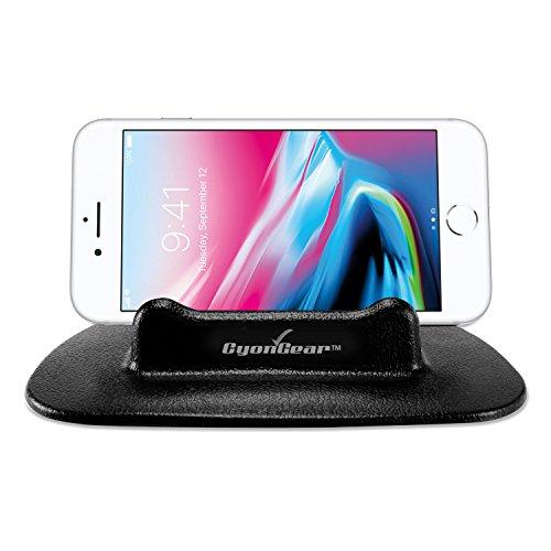 Cyongear Universal Silicone Dashboard Anti-Slip Mount Holder, Compatible For Compatible For Iphone Xs/Max/Xr/X/8/8Plus/7/6/5 Note 9/8/5 Galaxy S9/8/7/6 Google Pixel Xl Motorola Lg Htc Gps, Cellphone