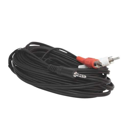 Ycs Basics 25 Foot 3.5Mm Stereo Male To 2 Rca Male Cable