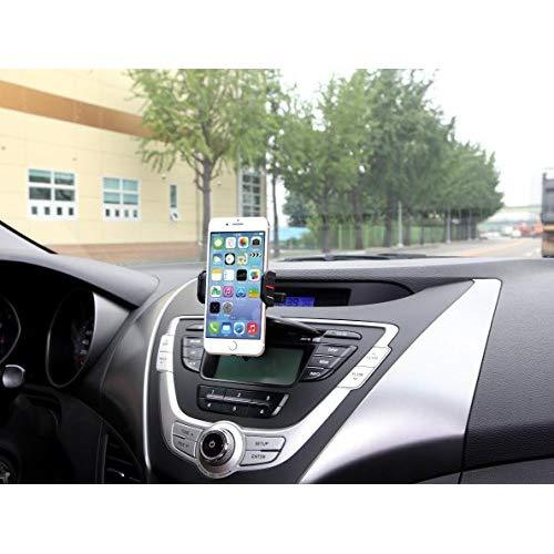Exogear Egem-Tcd Exomount Touch Cd Car Mount Car Holder With One Touch Mounting Technology For All Iphones And All Samsung Galaxy Phones (Includes All Other Smartphones And Cell Phones From 3.5 To 6.2 Inch Screens