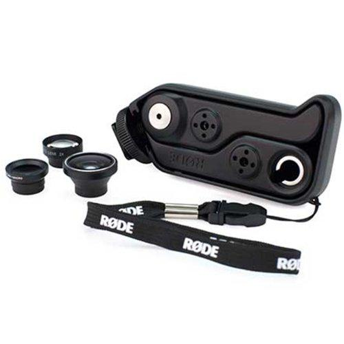 Rode Rodegrip Plus Multi-Purpose Mount And Lens Kit For Iphone 4/4S, Black