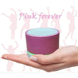 Sungale Seven Color Ring Portable Stereo Bluetooth Speaker With Microphone And Multi-Function(Sbk011)