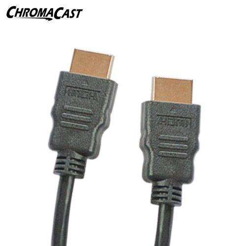 Chromacast High-Speed Hdmi Cable (10 Feet) - Supports Ethernet, 3D, And Audio Return [Newest Standard]