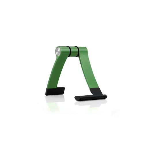 Cooler Master Jas Mini - Portable Aluminum Display Stand For Smartphones And Tablets (Iphone 6 Plus, Iphone 6, Galaxy S5, One M8, G3, Ipad Mini And More) (Forest Green)