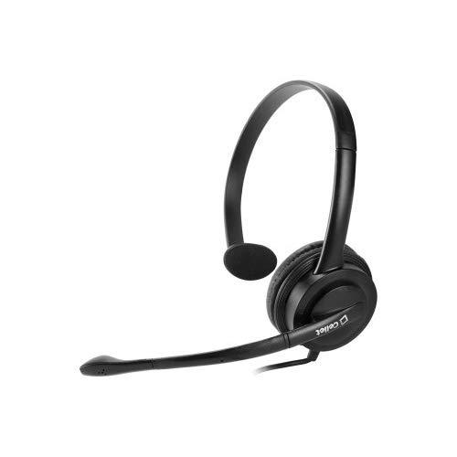 Cellet Premium Over The Head 3.5Mm Monaural Headset Compatible For Mobile Phones, Apple Iphone, Samsung Galaxy, Music Player, Personal Computer, Laptop, Lg, Htc, Lg, Zte, Blackberry, Smartphones