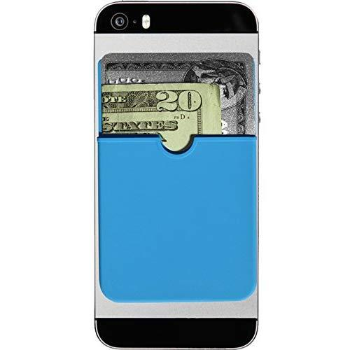 The Original Sticker Wallet Adhesive, Ultra-Thin, Credit Card Wallet, Turquoise
