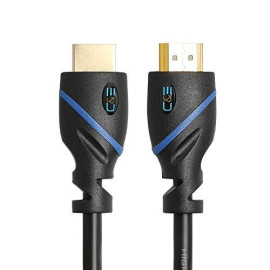 30Ft (9.1M) High Speed Hdmi Cable Male To Male With Ethernet Black (30 Feet/9.1 Meters) Supports 4K 30Hz, 3D, 1080P And Audio Return Cne58963