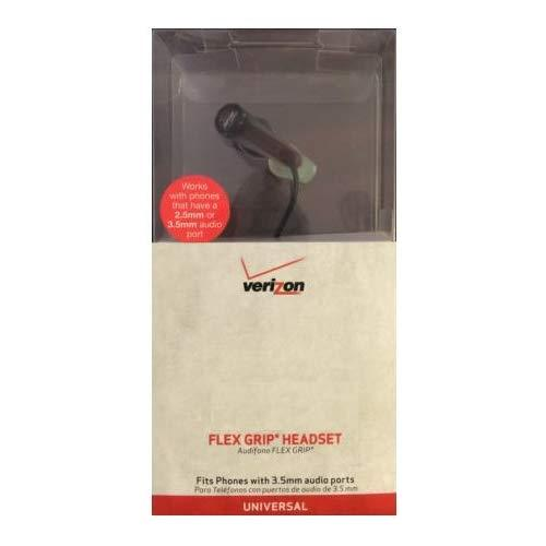 Verizon Wireless Flex Grip Headset - Compatible With 3.5Mm And 2.5Mm Phones