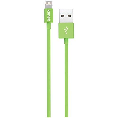 Kanex Apple Certified Lightning To Usb Cable With Surefit Connector 4 Feet (1.2 M) Green