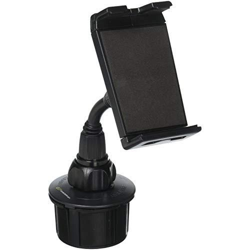 Bracketron Car Cup Holder Mount For Phablet-Style Smartphone &Amp; Tablet Tomtom Magellan Iphone X 8 Plus Ipad Samsung Galaxy Tab S4 S3 Microsoft Surface Pro Asus Zenpad 3S 10 Lenovo Ideapad Bt1-657-2