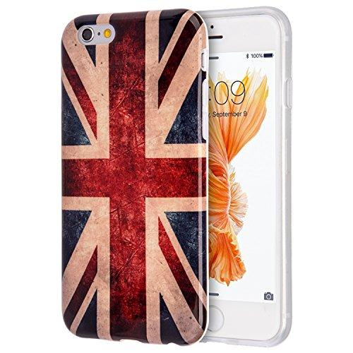 Dream Wireless Patriotic Vintage Flag Series Tpu Case For Iphone 6 Plus And 6S Plus (United Kingdom)