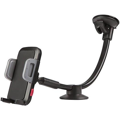 Universal Car Phone Mount Holder, Windshield Long Arm Cell Phone Holder For Iphone 8/X/7/6S/6 Plus/5S/5, Samsung Galaxy S6 S5, Nexus 5X/6P, Lg, Htc And Other Smartphones