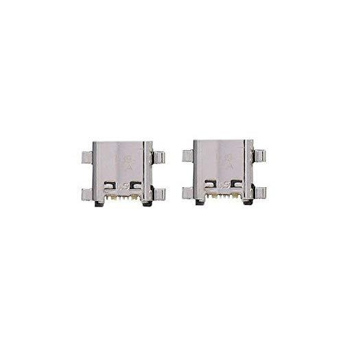Games&Amp;Tech 2 X Micro Usb Charging Charger Sync Port Connector For Samsung Galaxy Grand Prime Sm-G530T