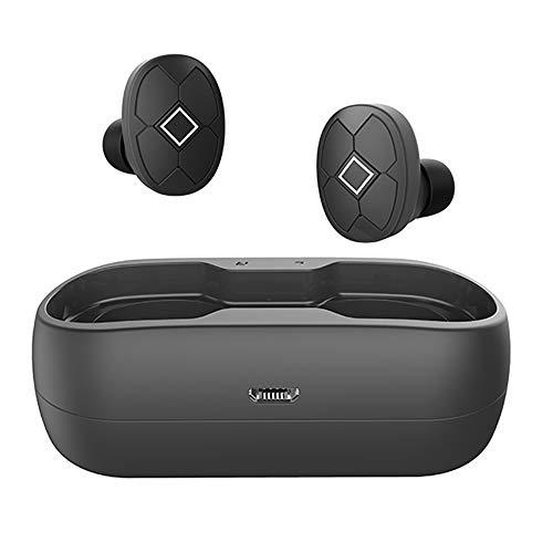 Toysdone Headphones,Wireless Earbuds Stereo Earphones Hands-Free Calling Headphone Sport Driving Headset With Charging Case For Most Smartphones (M6S Black)