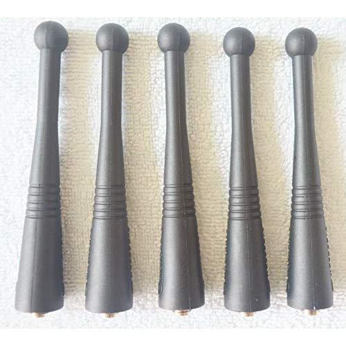 """5Pack 800Mhz Short Antenna Compatible For Motorola Gtx Xts 2500 3000 3500 5000 Ht1000 Ht2000 Etc Two Way Radio Walkie Talkie 3.5""""(5 Packs)"""