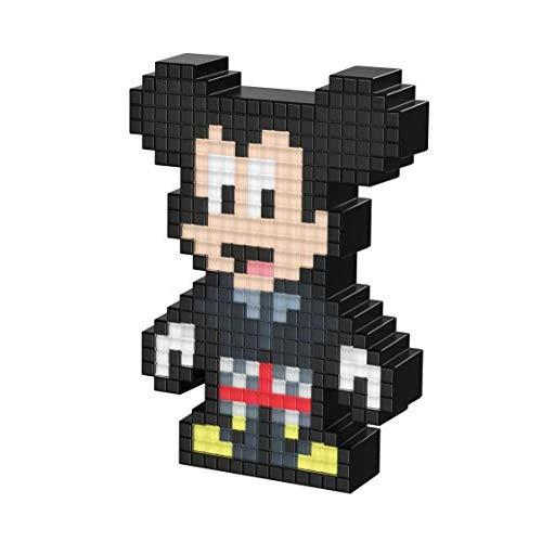 Pdp Pixel Pals Kingdom Hearts Mickey Collectible Lighted Figure, 878-056-Na-Mick - Not Machine Specific