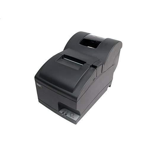 Star Micronics 37999420 Model SP742ML Impact Friction Printer, Cutter, Ethernet, Internal Power Supply Included, Rewinder/Journal, Gray