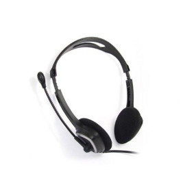 iMicro Im320 USB Headset with Adjustable Microphone Noise Cancelling, Wired Headphone for PC, Laptop