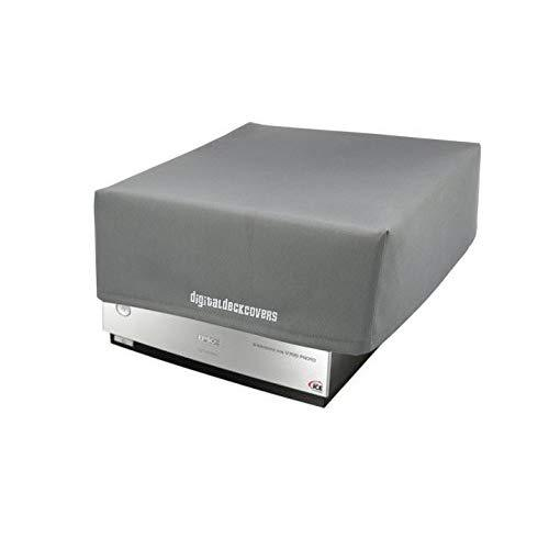 Scanner Dust Cover ; Protector for Epson V700 / V750 / V750-M Pro / V800 / V850 Photo Film Scanners [Antistatic, Water Resistant, Heavy Duty Fabric, Silver] by DigitalDeckCovers