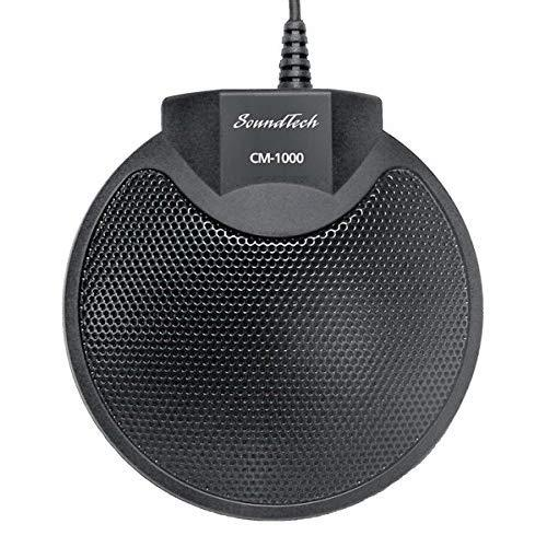 Sound Tech CM-1000USB Table Top Conference Meeting Microphone with Omni-Directional Stereo USB