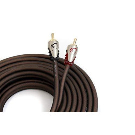 KnuKonceptz Klarity RCA Cable 2 Channel RCA Interconnect 6 Feet (2 Meter)