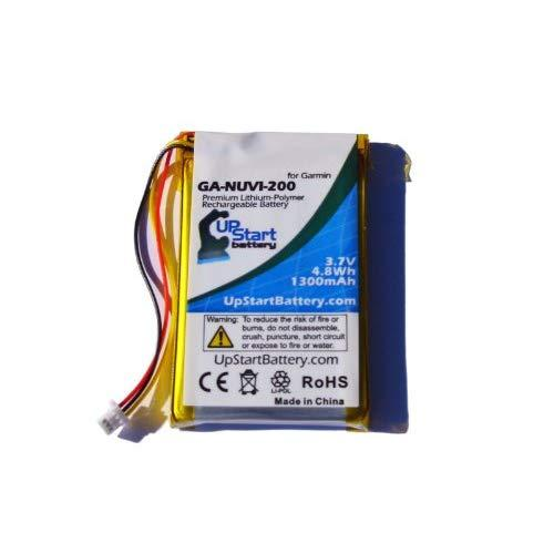 Replacement For Garmin Nuvi 255W Battery - Compatible With Garmin Gps Navigator Battery (1300Mah 3.7V Lithium Polymer)