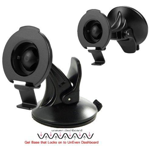 Chargercity Rigid Griplock Dashboard Windshield Suction Gps Mount For Garmin Drive 50 51 52 60 61 62 Drivesmart 50 51 52 55 57 60 61 62 Lm Lmt Gps (Replace 010-11983-00)