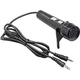Hamiltonbuhl Dy-5 Dual Jack Cardioid Dynamic Cassette Microphone, Ideal For Use With Cassette Tape Recorders And Compact Voice Recorders, Built-In On/Off Switch For Convenient Operation