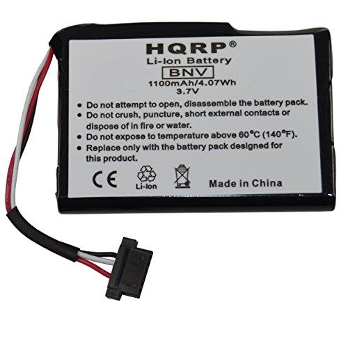 Hqrp 1100Mah Battery Works With Magellan Roadmate 1700Lm 5045Lm 2000 2200T 2250T 9212T-Lm Gps Navigator 1700-Lm 5045-Lm T300-3 T3003