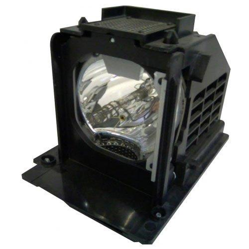 Oceanclub wd-73640 Compatible Mitsubishi TV lamp with Housing