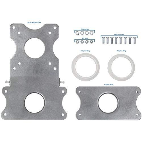 VIVO Adapter VESA Mount Kit   Bracket Set for Apple 21.5 inch and 27 inch iMac (Late 2009 to Current Models) LED Display Computer (Stand-MACB)