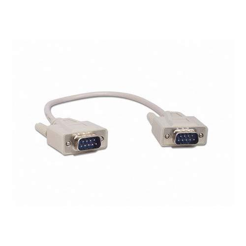 Your Cable Store 1 Foot Db9 9 Pin Serial Port Cable Male/Male Rs232