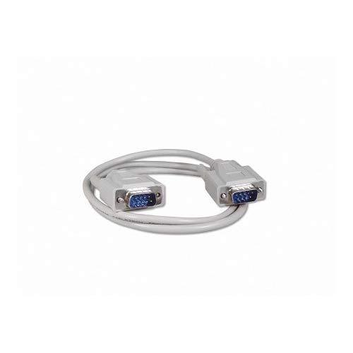 Your Cable Store 3 Foot Db9 9 Pin Serial Port Cable Male/Male Rs232