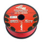 12 GAUGE WIRE RED ; BLACK POWER GROUND 100 FT EACH PRIMARY STRANDED COPPER CLAD