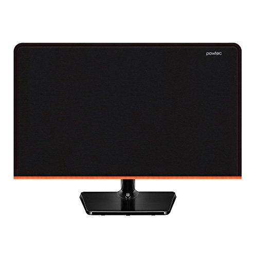 Pawtec Flat Screen Monitor Cover Scratch Resistance Neoprene Full Body Sleeve for LED LCD HD Panel (27 to 28 inches)