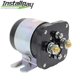 Install Bay Power Relay Battery Isolator 500 Amp High Current for 12V Metra