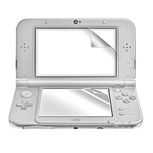 Tnp New 3Ds Screen Protector - Ultra Clear High Definition Hd Lcd Screen Protector Film Guard Skin Shield For New Nintendo 3Ds 2015 Release