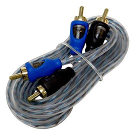 Bass Rockers 12ft Interconnect RCA Audio Cable - CRC12