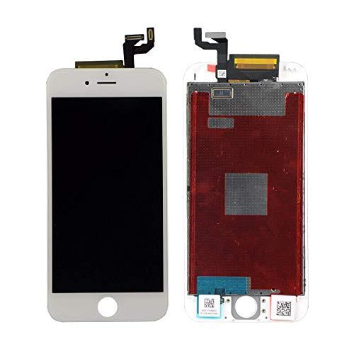 Ztr White Iphone 6S 4.7 Inch Retina Lcd Touch Screen Digitizer Glass Replacement Full Assembly With Repair Kit