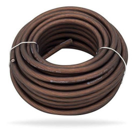 InstallGear 10 Gauge Black 25ft Power/Ground Wire True Spec and Soft Touch Cable