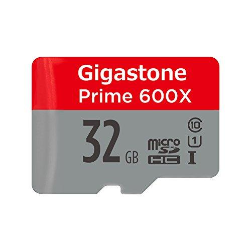 Gigastone Prime 32GB Micro SD Card UHS-I U1 up to 95MB/s with Adapter, Rexing, Dashcam, GoPro, Camera, Samsung, Canon, Nikon, DJI, Drone, Full HD