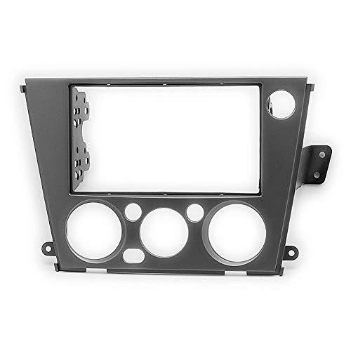 Carav 11-664 Car Stereo Radio installation frame Double Din in Dash Facia Fascia Kit for SUBARU Legacy Outback 2005-2009 (Manual Air-Conditioning/Left wheel) with 17398mm 178100mm 178102mm