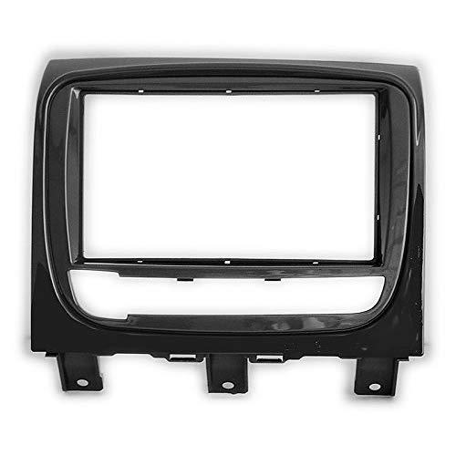 Double Din In Dash Car Stereo Installation Kit Car Radio Stereo CD Player Dash Install Kit Compatible FIATStrada 2012+; Idea 2013-2016 with 17398mm/178100mm/178102mm