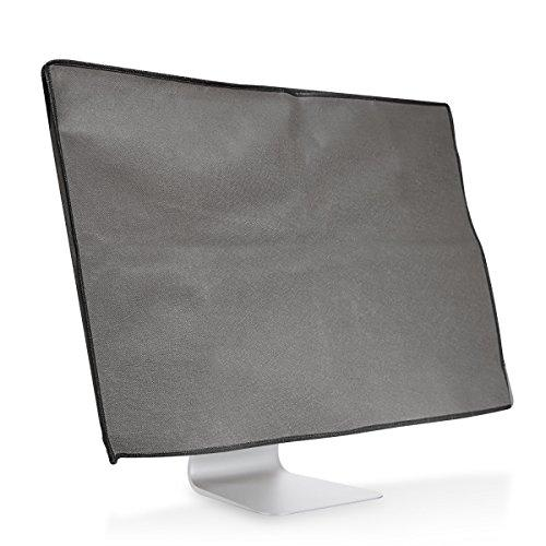 """kwmobile Monitor Cover for 20-22"""" Monitor - Dust Cover PC Monitor Case Screen Display Protector - Dark Grey"""